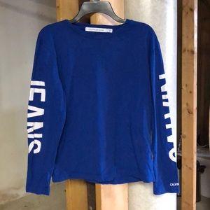 Long sleeve calvin shirt